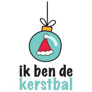 KERSTBAL-Illustratie