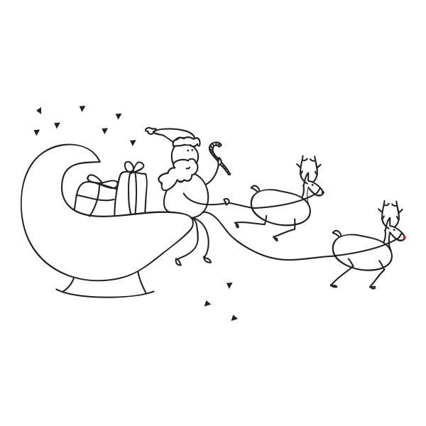 KERSTMAN-IN-ARRESLEE-Illustratie